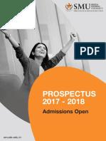 Smu de New Prospectus 11-4-2017 Final Artboard 24 Cm x 17.6 Cm