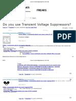 Do You Use Transient Voltage Suppressors_ _ AVR Freaks