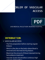 THE PROBLEM OF VASCULAR ACCESS.ppt