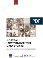 DEFI Guide Universite Entreprises