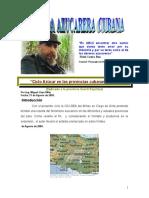 Ciclo Azúcar en Las Diferentes Provincias Cubanas (VI-A)