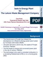 Presentation Waste to Energy Project Lahore.pdf