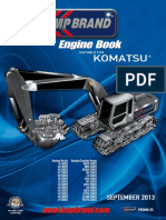 KOMATSU Engine Parts Catalogue 2013 KMP