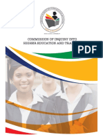 Commission of Inquiry Into Higher Education Report