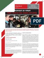 FP27 Organiser Un Forum Pour Lemploi Des Jeunes Diplomes