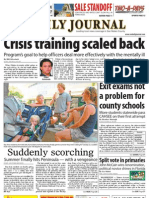 0825 issue of the Daily Journal
