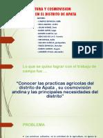 Agricultura y Cosmovision Andina