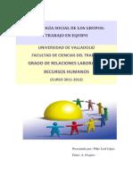 Psicologia Social de Los Grupos -Trabajo en Equipo