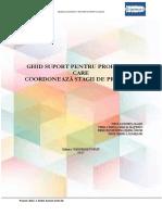 Ghid Suport Pentru Profesorii Care Coordoneaza Stagii de Practica- 2017-1