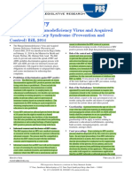 Bill Summary -- HIV Bill 2014