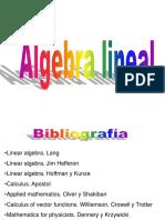 Algebra Lineal Prepropedeutico