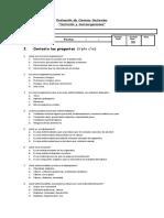 Evaluación nutricion y microorganismos
