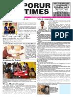 Porur Times Epaper on Nov.12