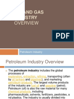 oil and gas industry overview-