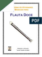 Caderno de Atividades Musicais (Retrato) (1) metodo flauta doce