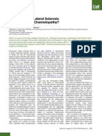 Is ALS a Mitochondrial Channeolpathy