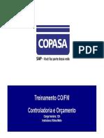 Treinamento CO-FM Controladoria e Orçamento Carga Horária- 12h Instrutora- Kilma Melo