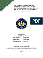 2 - 4 Kel.2 Prinsip Rancangan Penelitian Deskriptif Multivariat, Respon Terhadap Variabel