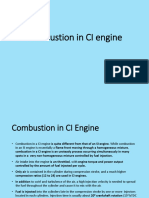 Combustion in CI Engine