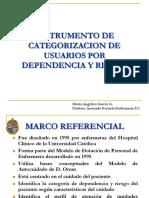 Categoorización R-D Mª Angélica García