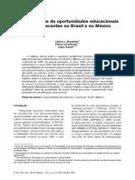 Desigualdade educacional - Brasil - México.pdf