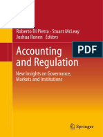 Accounting and Regulation New Insights on Governance, Markets and Institutions