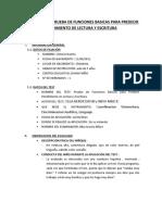 Informe Test Prueba de Funciones Basicas