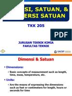 02 TK 205 Dimensi, Satuan, Faktor Konversi