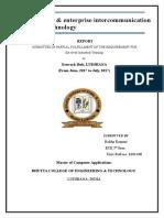 E-mail Service & Enterprise Intercommunication Using Wan Technology