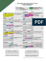 CalendarioResumido UTFPR - GP 2018