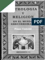 Astrología y Religión en El Mundo Grecorromano - Cumont, Franz