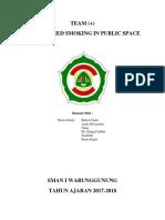 Thbt Banned Smoking in Publik Space