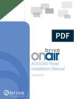 Brivo OnAir ACS5000 Panel Installation Manual 2