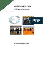 A Way to Wellness :Yoga (A Glimpse in Botswana)