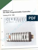 Siemens Simatic S5 Catalogue
