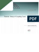 Tutorial SetupOfCouplingCases
