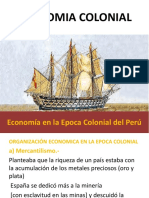 Economia Colonial v Ciclo