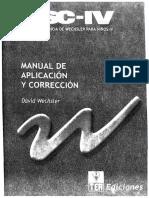 WISC IV Manual de aplicación y corrección [TEA].pdf