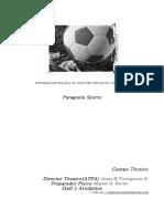 Proyecto Deportivo Cuerpo Tecnico