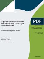Agencias Latinoamericanas de Fomento de La Innovacion y El Emprendimiento Caracteristicas y Retos Futuros
