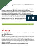 Fichas de Geologia Del Peru