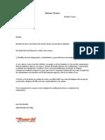 Informe Técnicocbkawaversys
