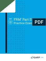 FRM PracticeExam Part2 2017