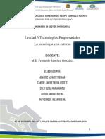 Tecnologia y Su Entorno Reporte.