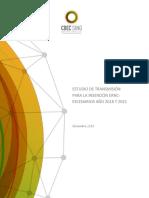 Informe Estudio ERNC SING Escenarios 2018 y 2021
