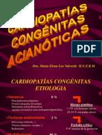 Cardiopatías Congénitas Acianótica 2016