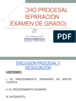 PREPARACIÓN EXAMEN DE GRADO CLASE 1