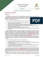 Cronica Djoao - Apontamentos