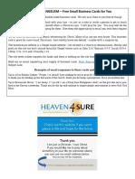 Share Christ Business Card