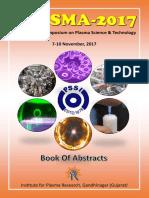 Plasma 2017 Abstract Book 01112017 by Dr A B Rajib Hazarika,PhD,FRAS,AES